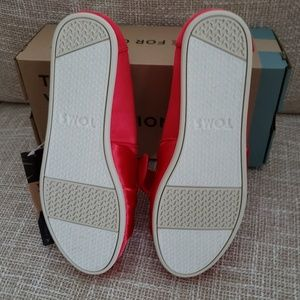 Toms Shoes - Toms Classic Lava Red W/Bow Shoes